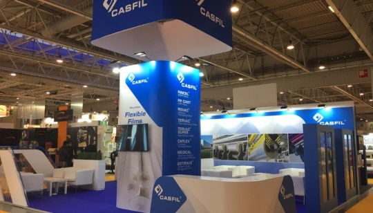 Casfil at the exhibition All4Pack Paris 2018